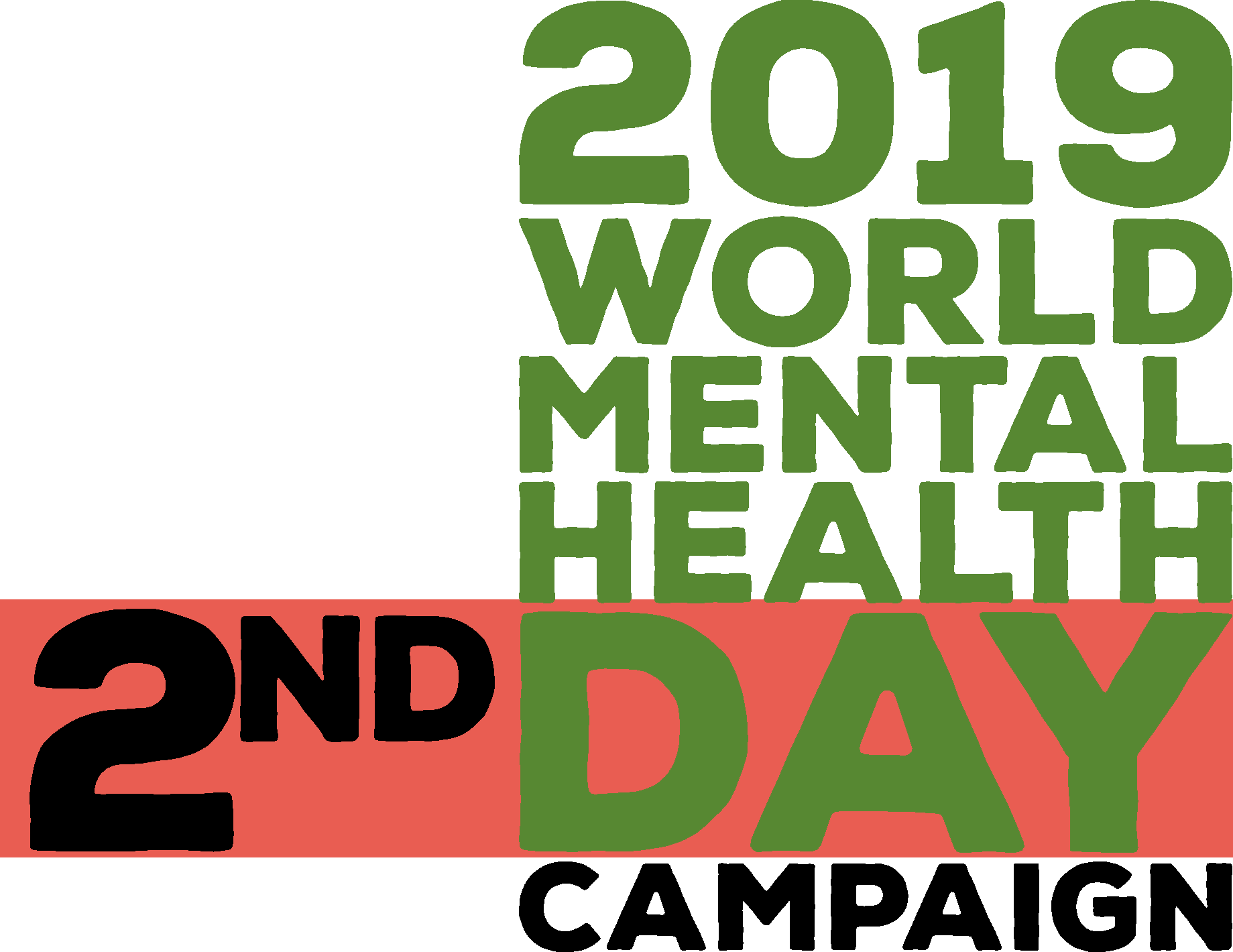 2019 world mental health day campaign logo 2nd day